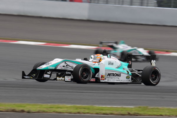 Fuji Speedway, Japan 13th - 14th July 2013.Rd 9 Winner  Yuichi Nakayama ( #36 PETRONAS TEAM TOM'S ) action World Copyright: Yasushi Ishihara/LAT Photographic Ref: Digital Image 2013JF3_Rd8&9_015