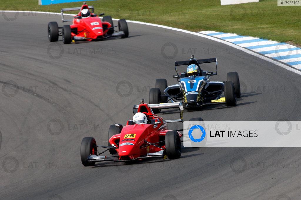 2013 MSA Formula Ford Championship of Great Britain. Donington Park, Leicestershire. 20th - 21st April 2013. Nico Maranzana (ARG) Jamun Racing Formula Ford 200. World Copyright: Ebrey / LAT Photographic.