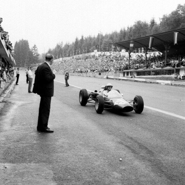 1963 Belgian Grand Prix.Spa-Francorchamps, Belgium.7-9 June 1963.Phil Hill (ATS 100).Ref-19269.World Copyright - LAT Photographic
