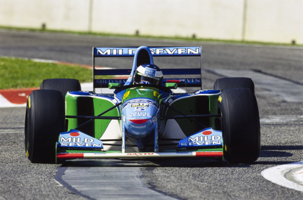Michael Schumacher, Benetton B194 Ford.