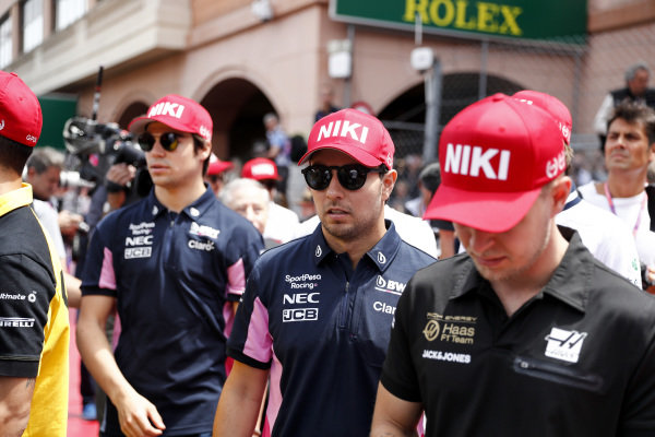 lsLance Stroll, Racing Point, Sergio Perez, Racing Point, and Kevin Magnussen, Haas F1