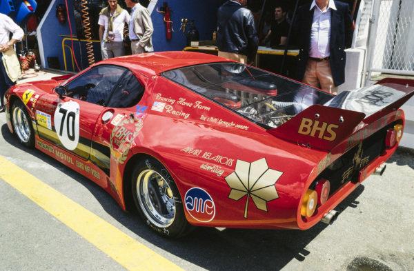 Carson Baird / Pierre Dieudonné / Jean-Paul Libert, Prancing Horse Farm Racing, Ferrari 512 BB/LM.
