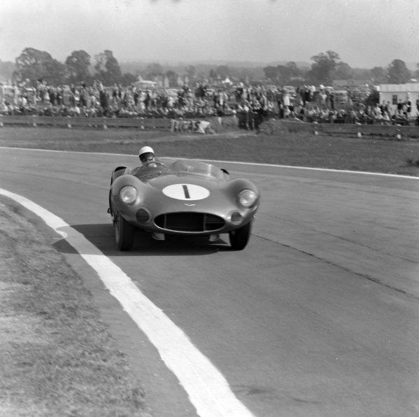 Stirling Moss / Roy Salvadori, David Brown, Aston Martin DBR1/300.