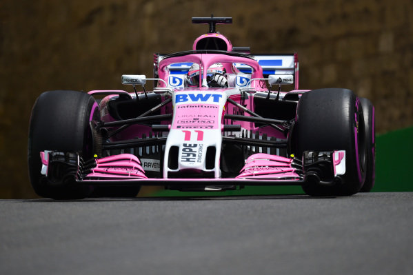 Sergio Perez (MEX) Force India VJM11