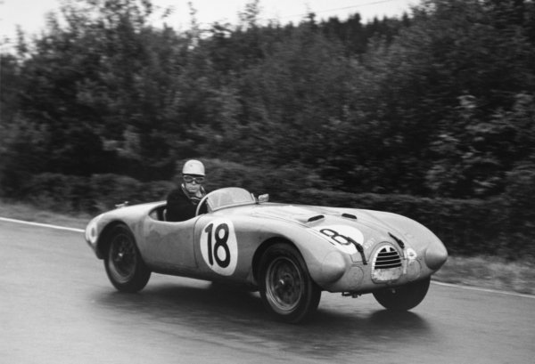 1952 Belgian Grand Prix.Spa-Francorchamps, Belgium. 22 June 1952.Johnny Claes (Simca-Gordini T16S). Ref-52/25 #23.World Copyright - LAT Photographic