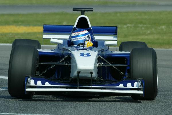 2003 Formula 3000 ChampionshipF3000, Imola, Italy. 18th April 2003. World Copyright LAT Photographic. ref: Digital Image Only.