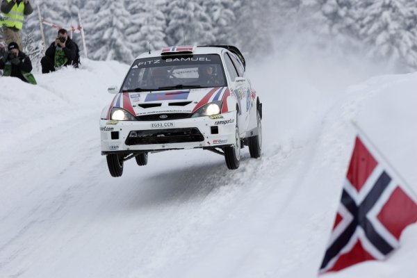 2007 FIA World Rally ChampionshipRound 3Rally of Norway 200715th - 18th February 2007Andreas Mikkelsen, Ford, Action.Worldwide Copyright: McKlein/LAT