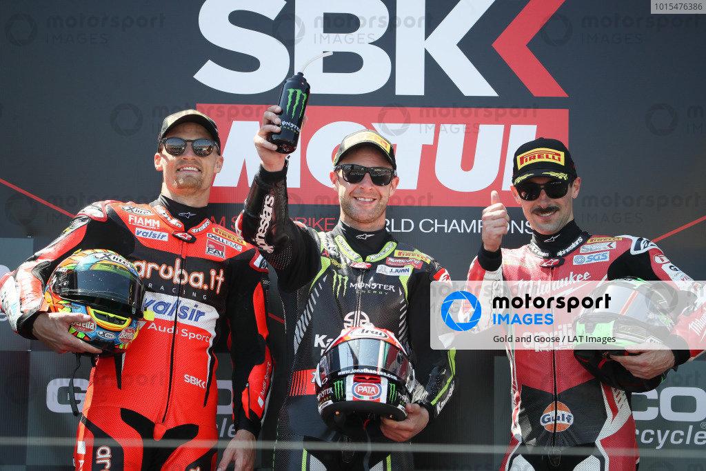 Jonathan Rea, Kawasaki Racing podium