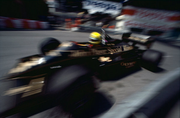 1985 Monaco Grand Prix.