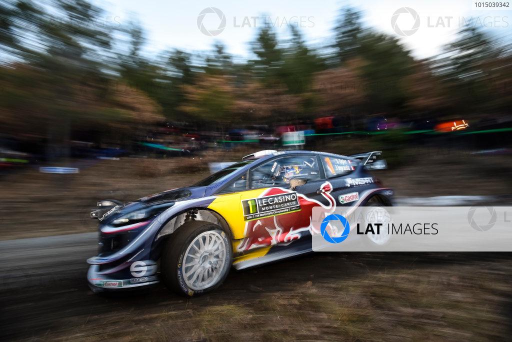 2018 FIA World Rally ChampionshipRound 01, Rallye Monte-Carlo 2018,January 25-28, 2018.Sebastien Ogier, Ford, Action,Worldwide Copyright: McKlein/LAT