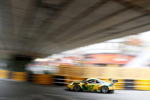 2015 FIA GT World Cup Circuit de Guia, Macau, China Saturday 18 November 2017. Darryl O'Young, Craft Bamboo Racing, Porsche 911 GT3R  World Copyright: Alexander Trienitz/LAT Images ref: Digital Image 2017-Macau-GP-AT2-3740