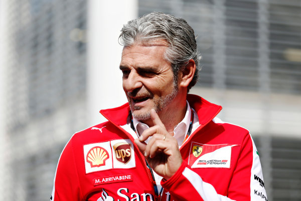 Autodromo Hermanos Rodriguez, Mexico City, Mexico. Thursday 29 October 2015. Mauricio Arrivabene, Team Principal, Ferrari. World Copyright: Alastair Staley/LAT Photographic ref: Digital Image _79P4447