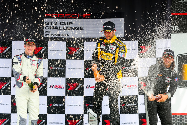 21-23 August 2015, Alton, Virginia USA GT3 Cup USA, Race 2, Platinum Podium ?2015, Jake Galstad LAT Photo USA