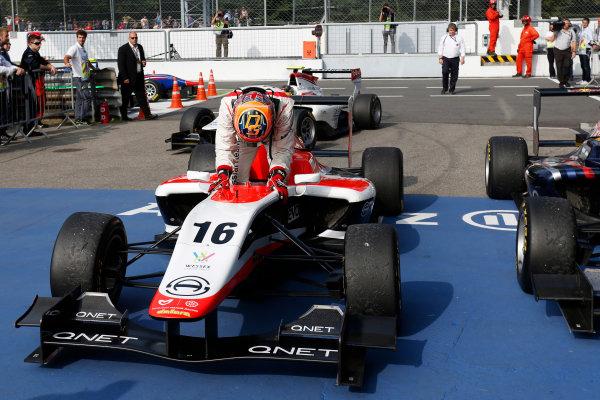 2014 GP3 Series. Round 7.   Autodromo di Monza, Monza, Italy. Sunday 7 September 2014. Dean Stoneman (GBR, Marussia Manor Racing). Photo: Zak Mauger/GP3 Series Media Service. ref: Digital Image _L0U0123