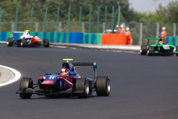 2014 GP3 Series Round 5. Hungaroring, Budapest, Hungary. Sunday 27 July 2014. Emil Bernstorff (GBR, Carlin)  Photo: Sam Bloxham/GP3 Series Media Service. ref: Digital Image _SBL8637