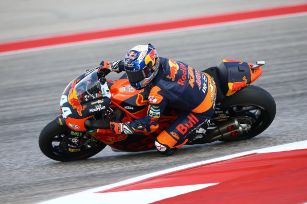 2017 Moto2 Championship - Round 3 Circuit of the Americas, Austin, Texas, USA Friday 21 April 2017 Miguel Oliveira, Red Bull KTM Ajo World Copyright: Gold and Goose Photography/LAT Images ref: Digital Image Moto2-500-2151