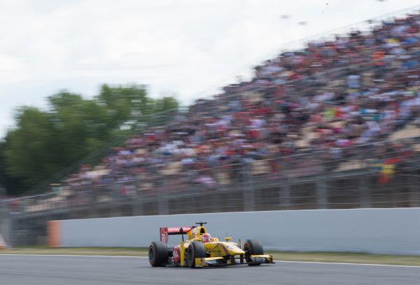 2017 FIA Formula 2 Round 2. Circuit de Catalunya, Barcelona, Spain. Sunday 14 May 2017. Norman Nato (FRA, Pertamina Arden)  Photo: Jed Leicester/FIA Formula 2. ref: Digital Image JL1_0314