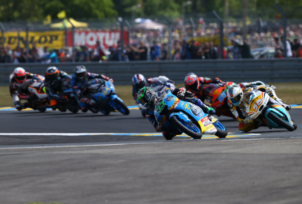 2017 Moto3 Championship - Round 5 Le Mans, France Sunday 21 May 2017 Enea Bastianini, Estrella Galicia 0,0 World Copyright: Gold & Goose Photography/LAT Images ref: Digital Image 672048