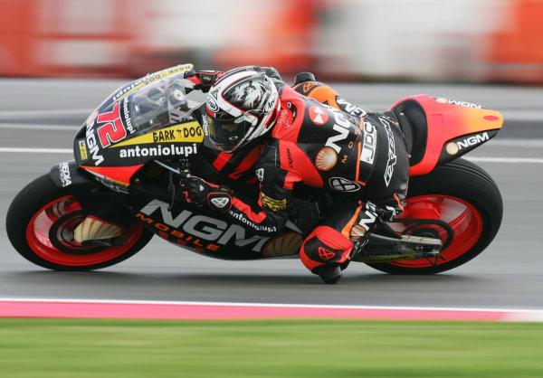 British Grand Prix. Silverstone, England. 15th-17th June 2012. Moto2. Yuki Takahashi, Forward Racing Suter. World Copyright: Kevin Wood/LAT Photographic. ref: Digital Image MF6E8813a