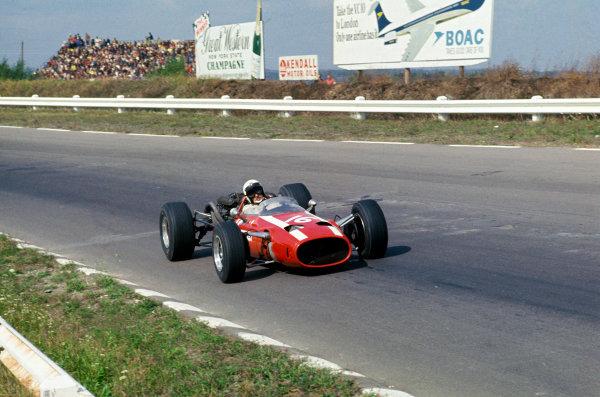 Watkins Glen, New York, USA. 30/9-1/10 1967. Jo Bonnier (Cooper T81-Maserati). Ref: 67 USA 20. World Copyright - LAT Photographic