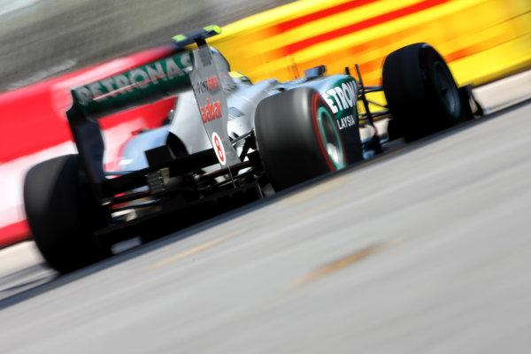 Monte Carlo, Monaco26th May 2011Nico Rosberg, Mercedes GP W02. Action. World Copyright: Andy Hone/LAT Photographicref: Digital Image CSD_3607