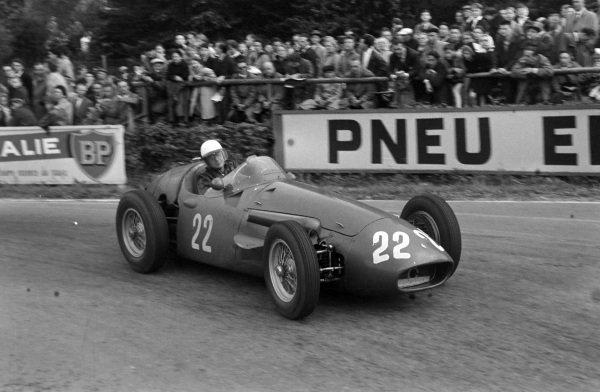 Luigi Villoresi, Maserati 250F.