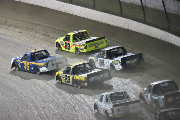 \f45\ and #88: Matt Crafton, ThorSport Racing, Ford F-150 Ideal Door/Menards