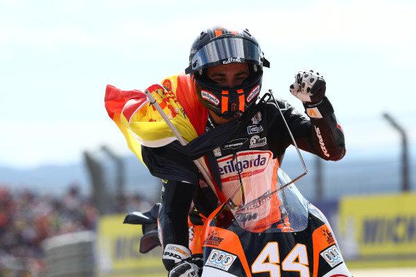 Race winner Aron Canet, Max Racing Team