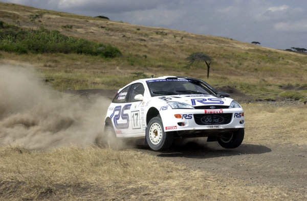 2001 World Rally Championship.Nairobi, Kenya. July 20-22, 2001Francois Delecour during shakedown.Photo: Ralph Hardwick/LAT