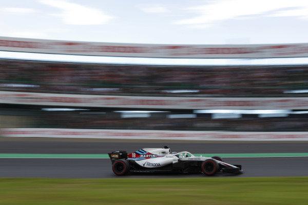 Lance Stroll, Williams FW41 Mercedes.