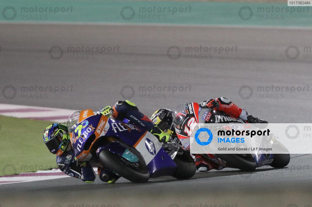 Lorenzo Baldassarri, Pons HP40, Thomas Luthi, Intact GP.