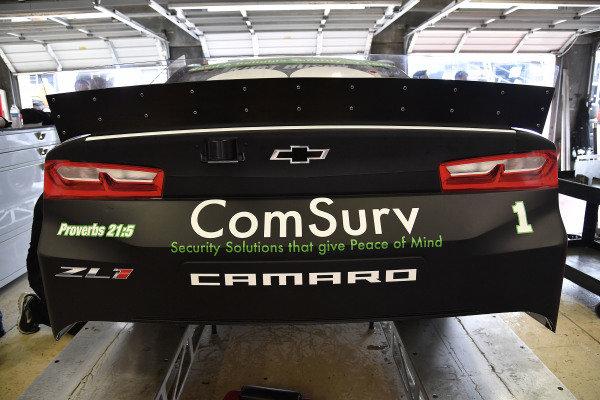 #1: Kurt Busch, Chip Ganassi Racing, Chevrolet Camaro ComSurv