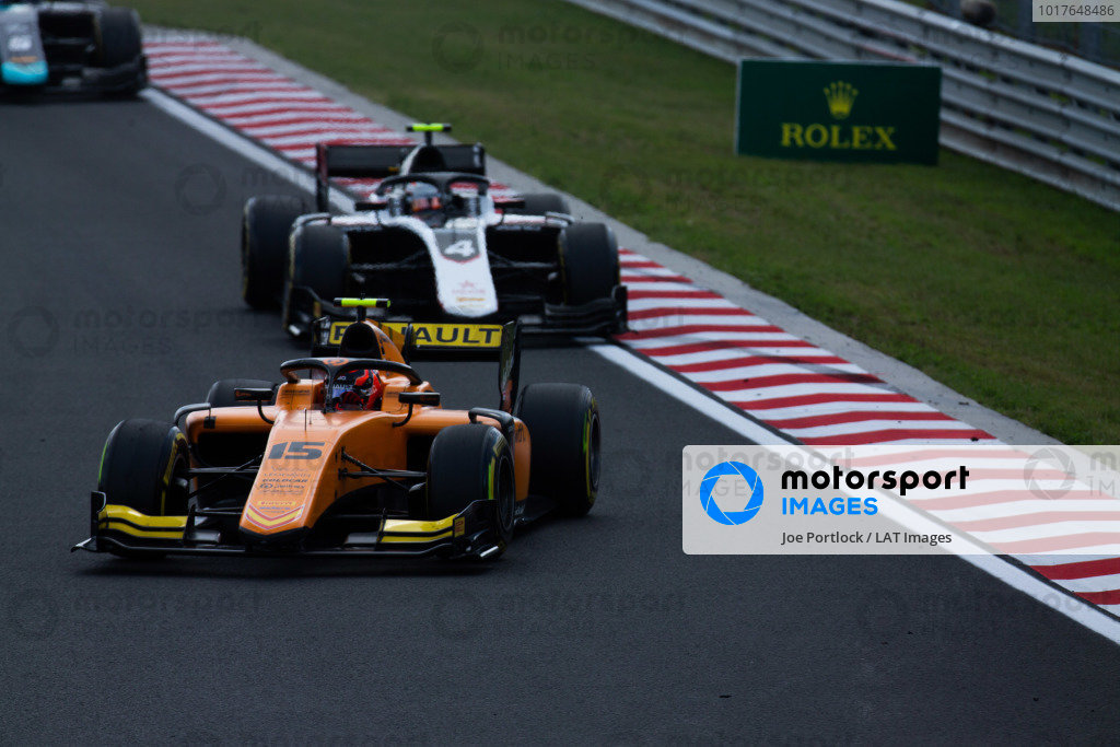 HUNGARORING, HUNGARY - AUGUST 04: Jack Aitken (GBR, CAMPOS RACING) during the Hungaroring at Hungaroring on August 04, 2019 in Hungaroring, Hungary. (Photo by Joe Portlock / LAT Images / FIA F2 Championship)