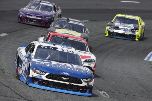#39: Ryan Sieg, RSS Racing, Ford Mustang CMR Construction and Roofing / A-Game, #26: Brandon Gdovic, Sam Hunt Racing, Toyota Supra SnapMobile.com
