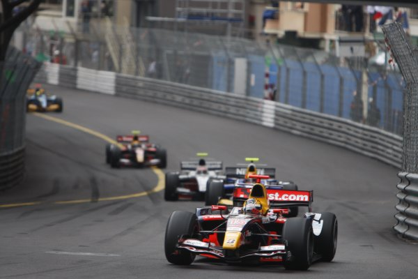 2008 GP2 Series. Round 3. Friday Race. Monte-Carlo, Monaco. 24th May 2008.Yelmer Buurman (NED, Trust Team Arden). Action. World Copyright: Glenn Dunbar/GP2 Series Media Service.ref:__O9T8877 jpg