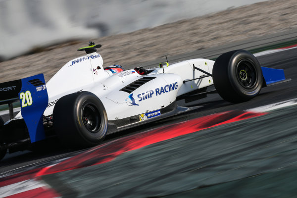 BARCELONA (ESP) DEC 14-15 2015 - Private test of the Formula 3.5 V8 series 2015 at Circuit de Barcelona. Matters Isaakyan #19 Spirit of Race. Action. © 2015 Diederik van der Laan  / Dutch Photo Agency / LAT Photographic