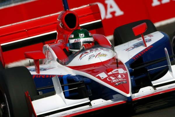 Darren Manning (GBR), Foyt Racing Dallara Honda, qualified 6th.IRL IndyCar Series, Rd2, Honda Grand Prix of St Petersburg, Florida, USA. 31 March-01 April 2007.DIGITAL IMAGE