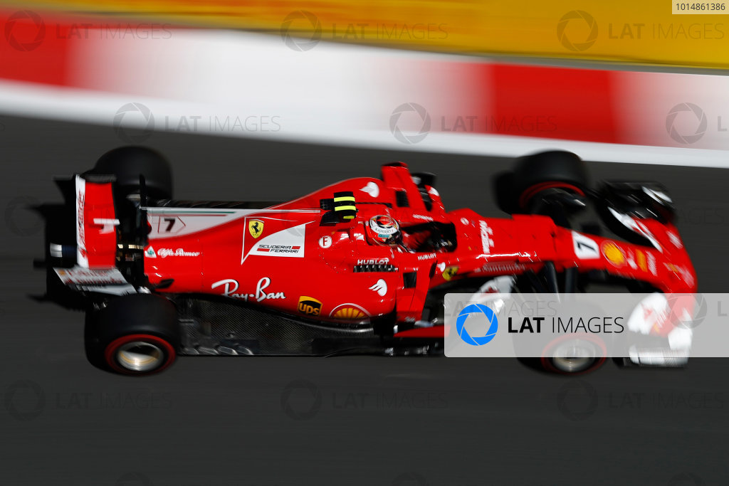 Baku City Circuit, Baku, Azerbaijan. Saturday 24 June 2017. Kimi Raikkonen, Ferrari SF70H. World Copyright: Glenn Dunbar/LAT Images ref: Digital Image _31I1256