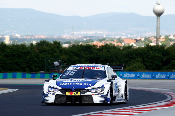 2017 DTM Round 3 Hungaroring, Budapest, Hungary. Sunday 18 June 2017. Maxime Martin, BMW Team RBM, BMW M4 DTM World Copyright: Alexander Trienitz/LAT Images ref: Digital Image 2017-DTM-R3-HUN-AT1-1778