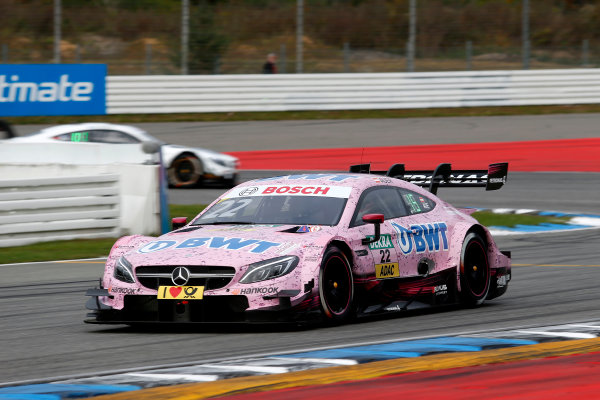 2017 DTM Round 9  Hockenheimring, Germany  Friday 13 October 2017. Lucas Auer, Mercedes-AMG Team HWA, Mercedes-AMG C63 DTM  World Copyright: Alexander Trienitz/LAT Images ref: Digital Image 2017-DTM-HH2-AT2-0256