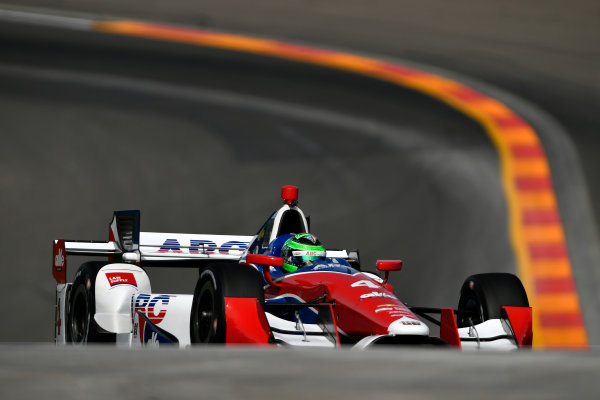 Verizon IndyCar Series IndyCar Grand Prix at the Glen Watkins Glen International, Watkins Glen, NY USA Friday 1 September 2017 Conor Daly, A.J. Foyt Enterprises Chevrolet World Copyright: Scott R LePage LAT Images