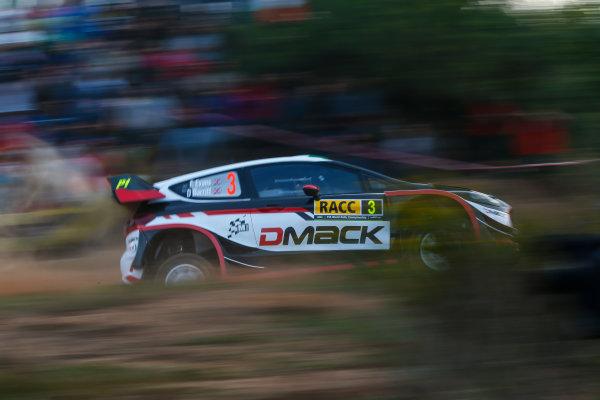 2017 FIA World Rally Championship, Round 11, Rally RACC Catalunya / Rally de España, 5-8 October, 2017, Elfyn Evans, Ford, action, Worldwide Copyright: LAT/McKlein