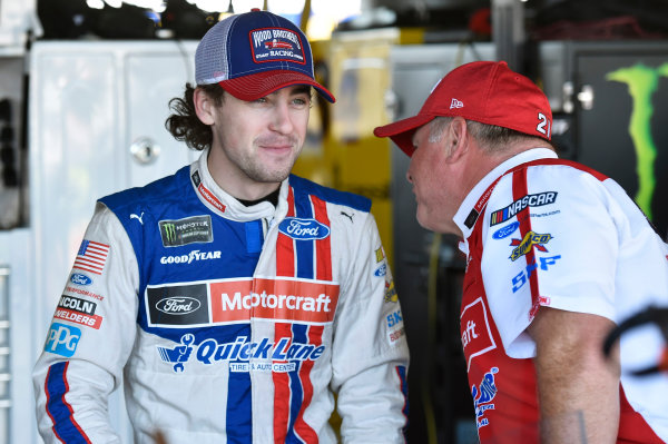Monster Energy NASCAR Cup Series Federated Auto Parts 400 Richmond Raceway, Richmond, VA USA Friday 8 September 2017 Ryan Blaney, Wood Brothers Racing, Motorcraft/Quick Lane Tire & Auto Center Ford Fusion World Copyright: Nigel Kinrade LAT Images