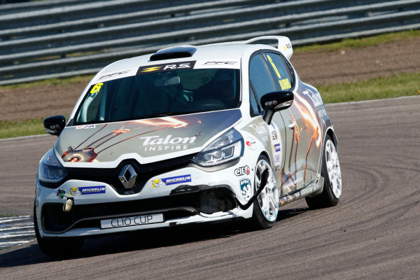 Renault Clio Cup Rockingham, 26th-27th August 2017, Bradley Burns Team Pyro World copyright.. JEP/LAT Images
