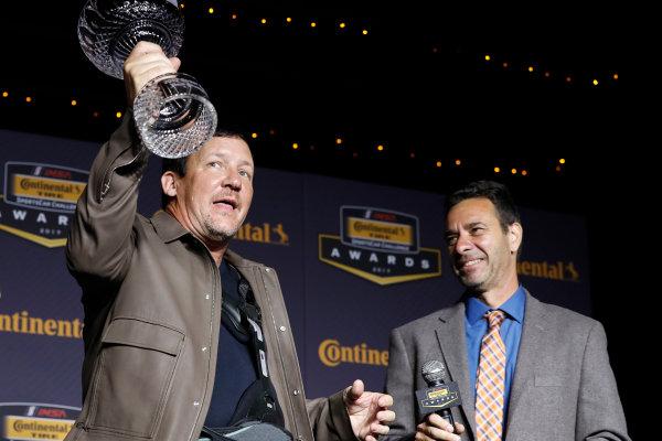 IMSA Continental Tire SportsCar Challenge Series Awards Banquet Road Atlanta, Braselton GA Friday 6 October 2017 Jeff Mosing, Ken Murillo World Copyright: Michael L. Levitt LAT Images