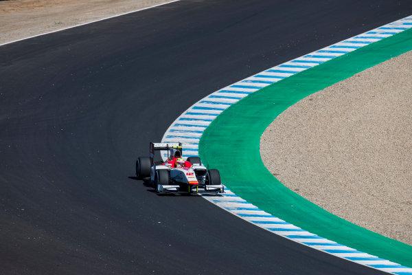 2017 FIA Formula 2 Round 10. Circuito de Jerez, Jerez, Spain. Sunday 8 October 2017. Alex Palou (JPN, Campos Racing).  Photo: Zak Mauger/FIA Formula 2. ref: Digital Image _56I7573