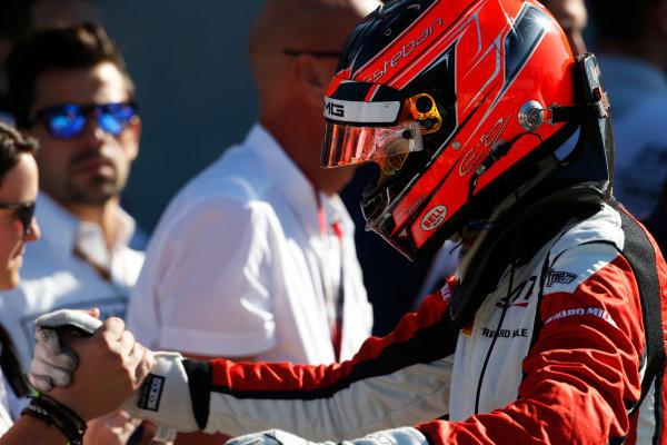 2015 GP3 Series Round 6. Autodromo di Monza, Italy. Sunday 6 September 2015.Esteban Ocon (FRA, ART Grand Prix)  World Copyright: Sam Bloxham/LAT Photographic. ref: Digital Image _SBL3713