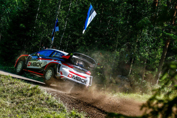 2017 FIA World Rally Championship, Round 09, Rally Finland / July 27 - 30, 2017, Elfyn Evans, Ford, action, Worldwide Copyright: McKlein/LAT