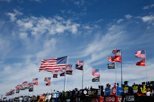 Monster Energy NASCAR Cup Series Overton?s 400 Pocono Raceway, Long Pond, PA USA Saturday 29 July 2017 Monster Energy NASCAR Cup Series garage World Copyright: Lesley Ann Miller LAT Images