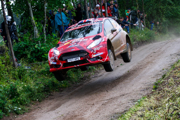2017 FIA World Rally Championship, Round 08, Rally Poland / June 29 - July 2 2017, Gus Greensmith, Ford, action, Worldwide Copyright: McKlein/LAT
